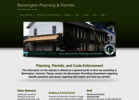 Benningtonplanningandpermits.com thumbnail