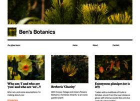 Bensbotanics.co.uk thumbnail