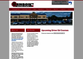 Bensonsdriving.com thumbnail
