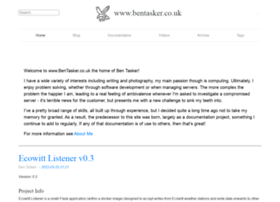 Bentasker.co.uk thumbnail