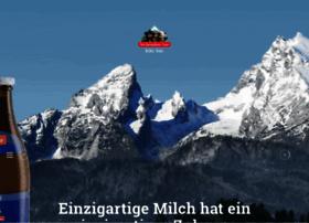 Bergbauernmilch.de thumbnail
