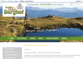 Berghof-innerkrems.at thumbnail