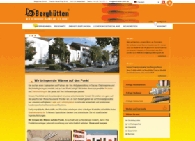 Berghuetten-gmbh.de thumbnail