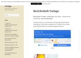 Berichtsheft-vorlage.de thumbnail