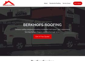 Berkhofsroofing.ca thumbnail