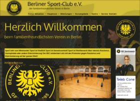 Berlinersportclub.de thumbnail