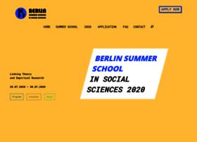 Berlinsummerschool.de thumbnail