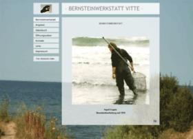 Bernsteinwerkstatt-vitte.de thumbnail