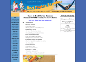 Best-florida-beaches.org thumbnail