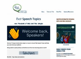 Best-speech-topics.com thumbnail