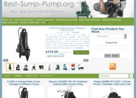 Best-sump-pump.org thumbnail