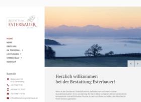 Bestattung-esterbauer.at thumbnail