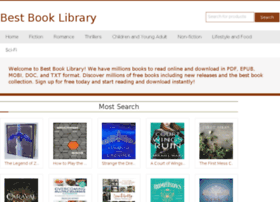 Bestbookslibrary.co thumbnail