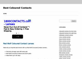 Bestcolouredcontacts.co.uk thumbnail