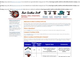 Bestcordlessdrill.net thumbnail
