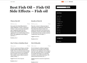 At wi best fish oil fish oil for Fish oil supplement side effects