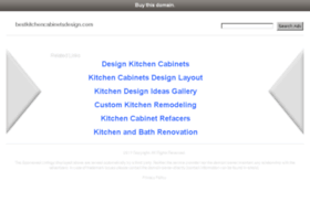 Bestkitchencabinetsdesign.com thumbnail