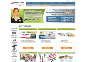 bestnamebadges com at WI  Best Name Badges - Custom Name