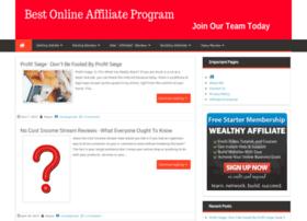 Bestonlineaffiliateprogram.org thumbnail