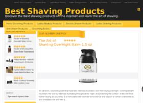 Bestshavingproducts.org thumbnail