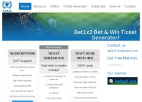 Bet1x2.win thumbnail