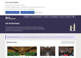 Beta.parliament.uk thumbnail