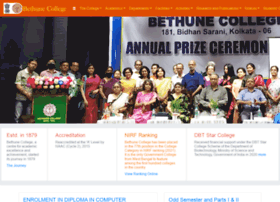 Bethunecollege.ac.in thumbnail