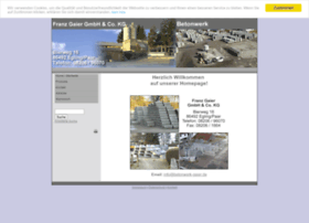 Betonwerk-gaier.de thumbnail