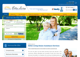 Betterlivingseniorservices.com thumbnail
