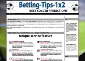 1x2 betting soccer website cs go item betting