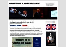 Beweisaufnahme-homoeopathie.de thumbnail