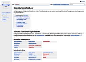 Bewerbungs-wiki.de thumbnail