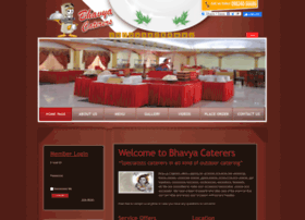 Bhavyacaterers.com thumbnail