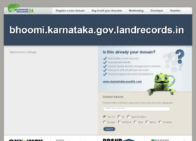 Bhoomi.karnataka.gov.landrecords.in thumbnail