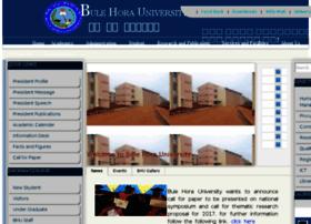 Bhu.edu.et thumbnail