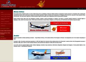 Bhutan-airline.com thumbnail