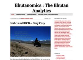 Bhutanomics.com thumbnail