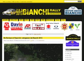 Bianchirally.be thumbnail