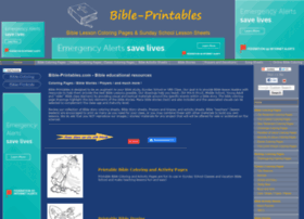 Bible-printables.com thumbnail