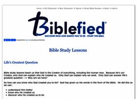 Biblefied.com thumbnail