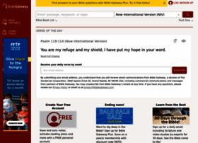 Biblegateway.com thumbnail
