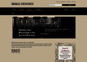 Bibleodyssey.org thumbnail