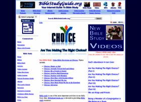 Biblestudyguide.org thumbnail