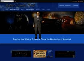 Biblicalcalendarproof.com thumbnail