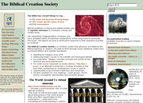 Biblicalcreation.org.uk thumbnail