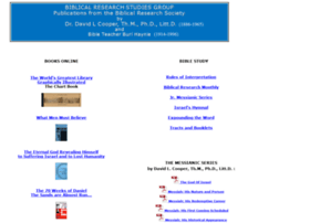 Biblicalresearch.info thumbnail