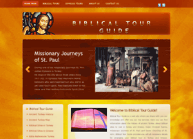 Biblicaltourguide.com thumbnail