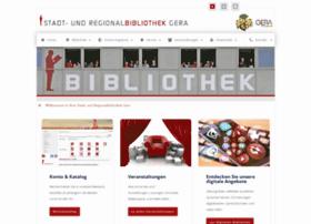 Biblio-gera.de thumbnail