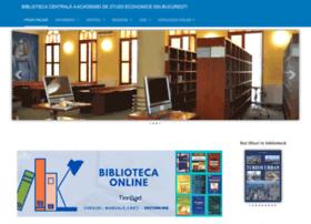 Biblioteca.ase.ro thumbnail