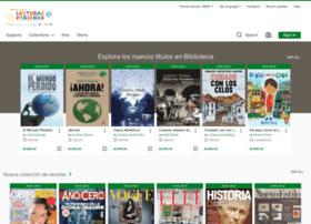 Bibliotecaepm.libraryreserve.com thumbnail